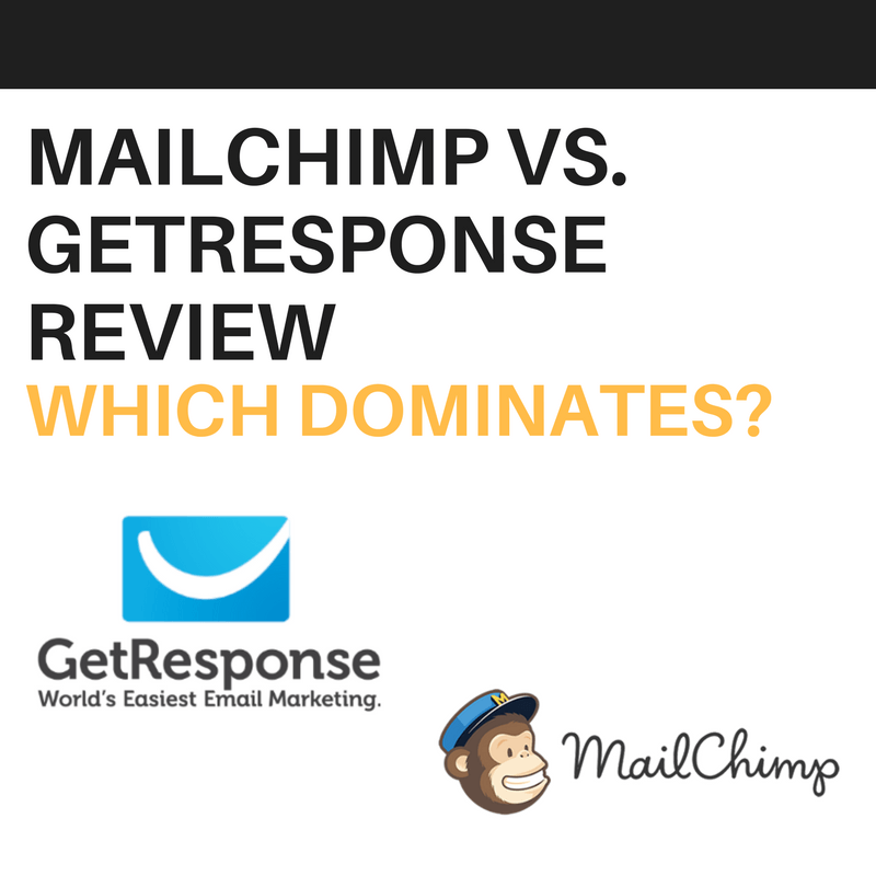 MailChimp vs GetResponse Review Which Dominates?