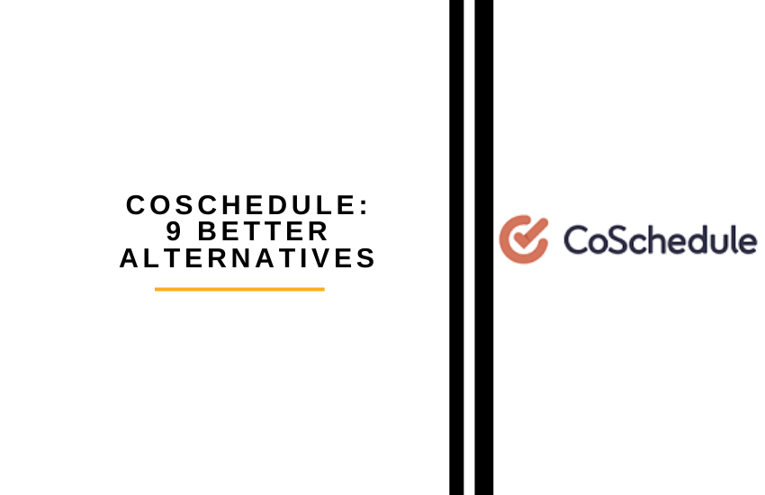 coshedule 9 better alternatives