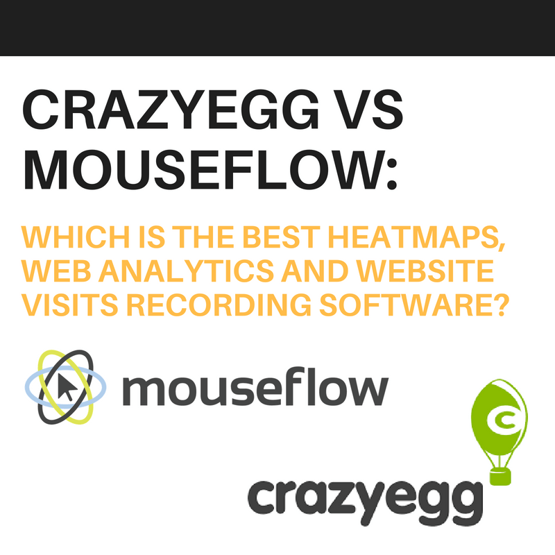CrazyEgg vs Mouseflow