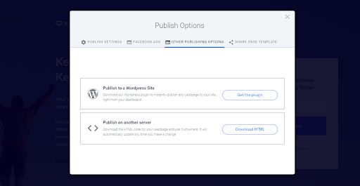 LeadPages-Other-Publishing-Options