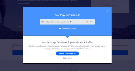 LeadPages-Published