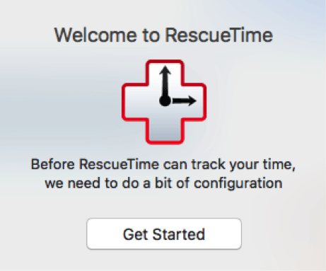 rescuetime welcome