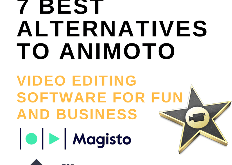 7 Best Alternatives To Animoto: Video Editing Software for Fun and Business