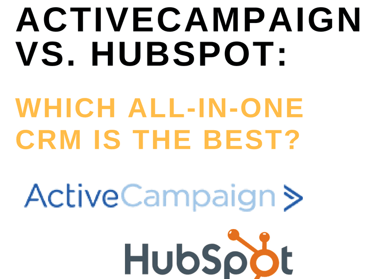 ACTIVECAMPAIGN VS. HUBSPOT