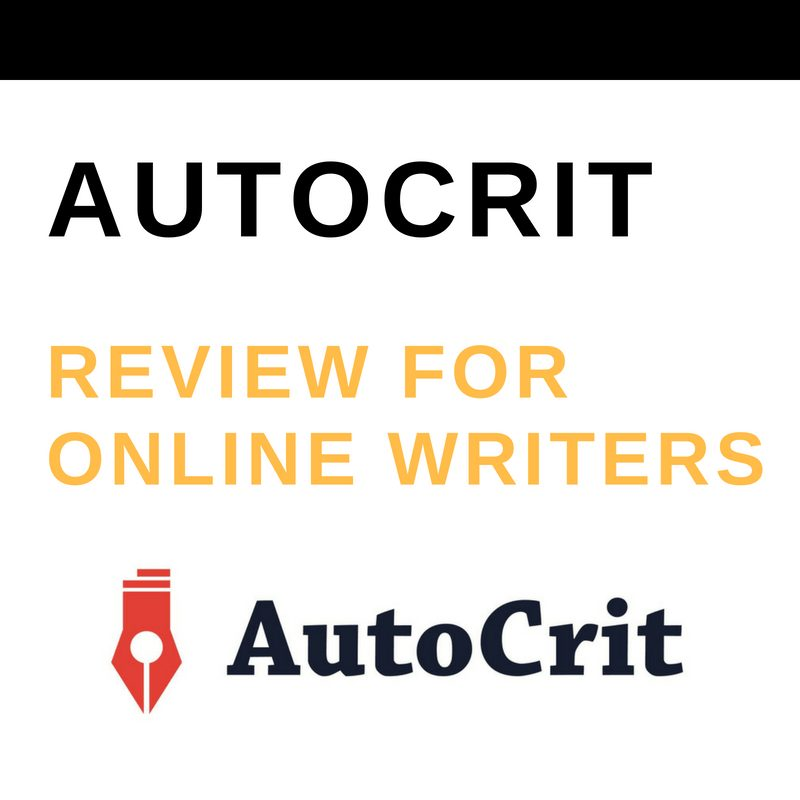 AUTOCRIT REVIEW FOR ONLINE WRITERS