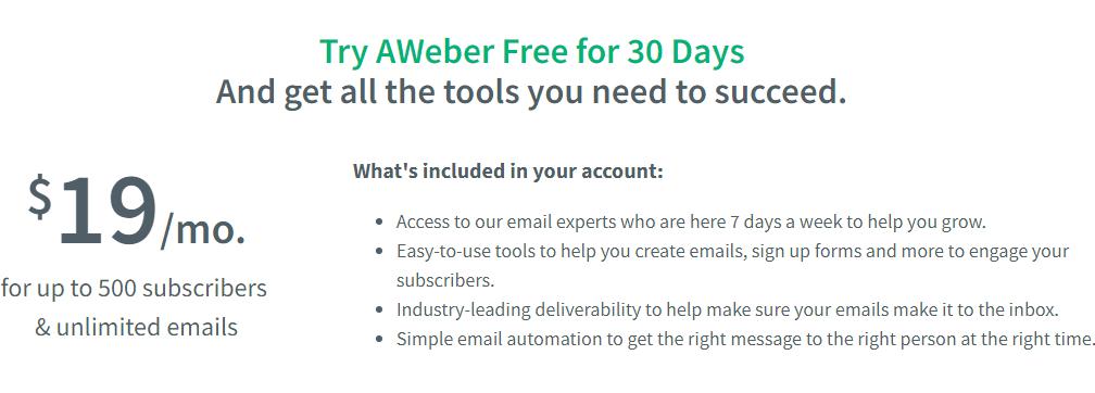 I Personally Prefer AWeber