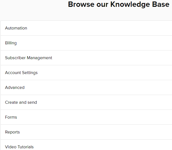 MailerLite Knowledge Base