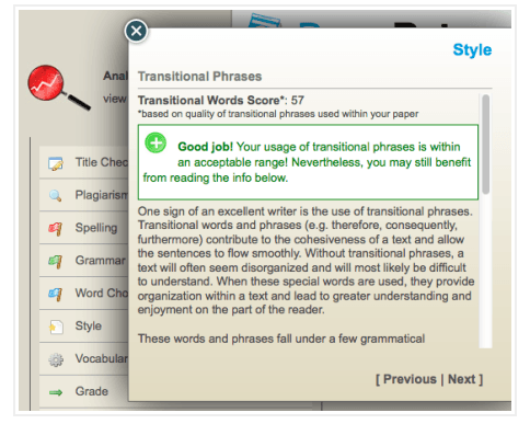 Paperrater screenshot
