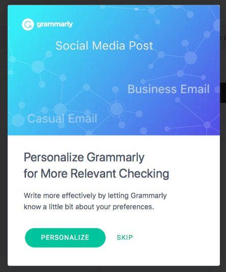 Grammarly Social Media Posts