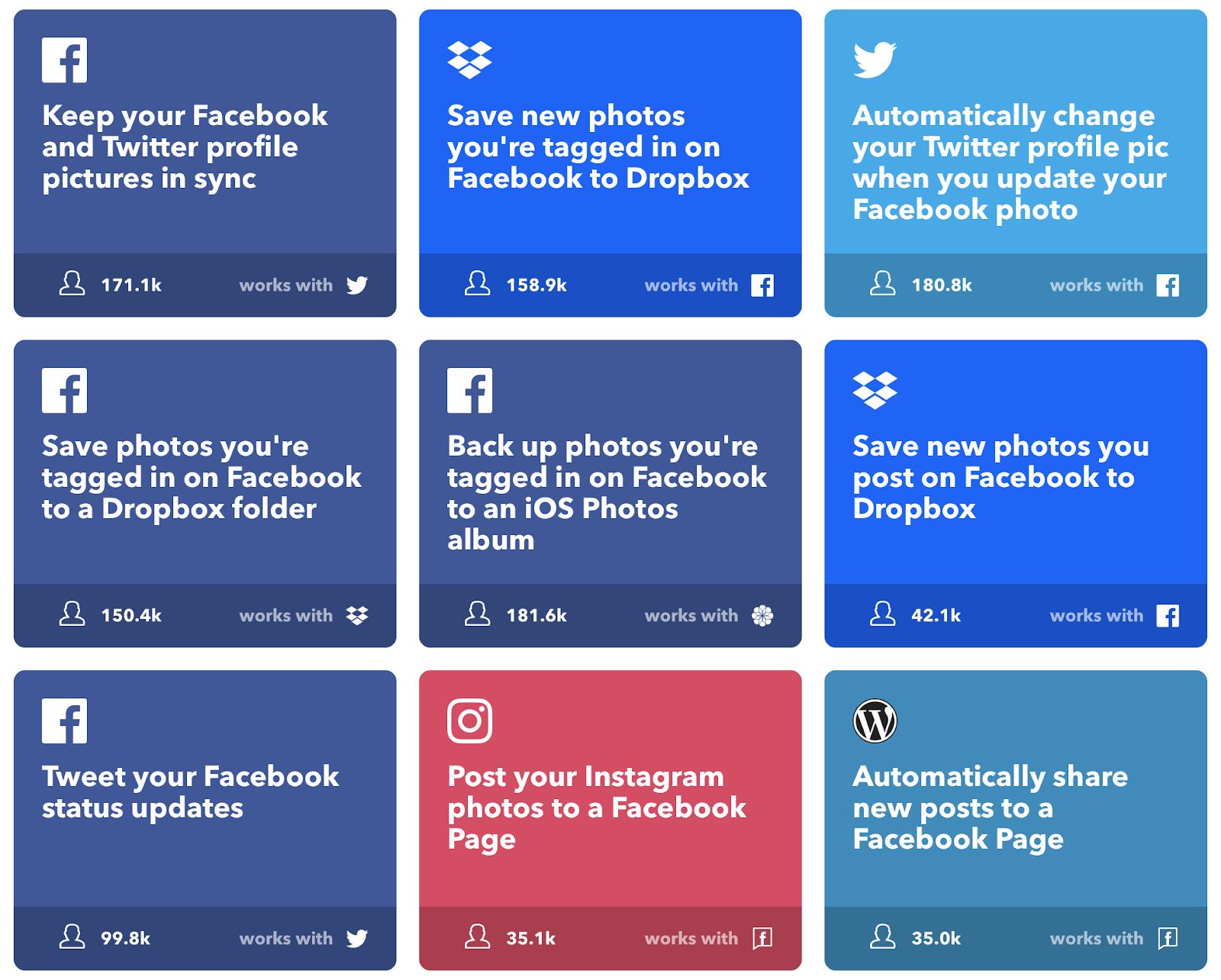 Ifttt Facebook Social