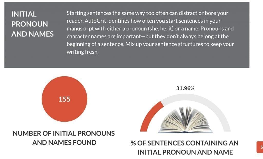 Autocrit Initial Pronouns