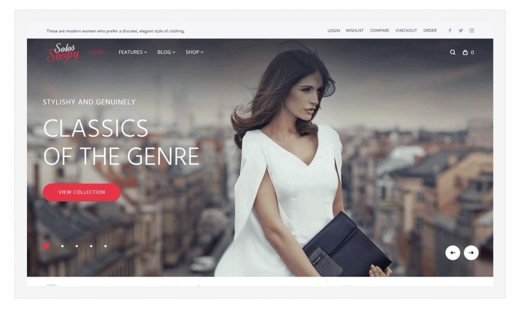 SolosShopy-WP theme