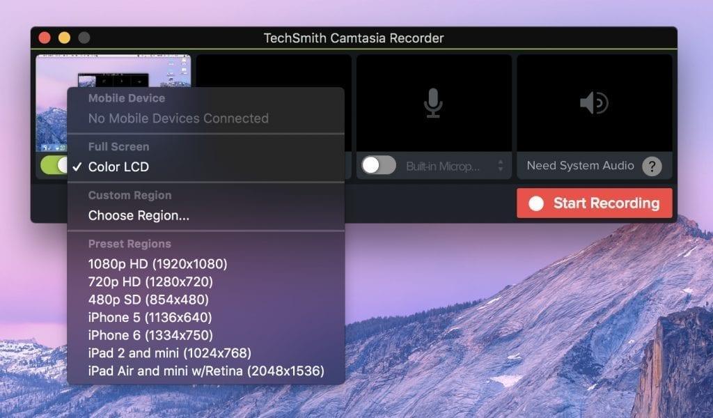 TechSmith Camtasia Recorder