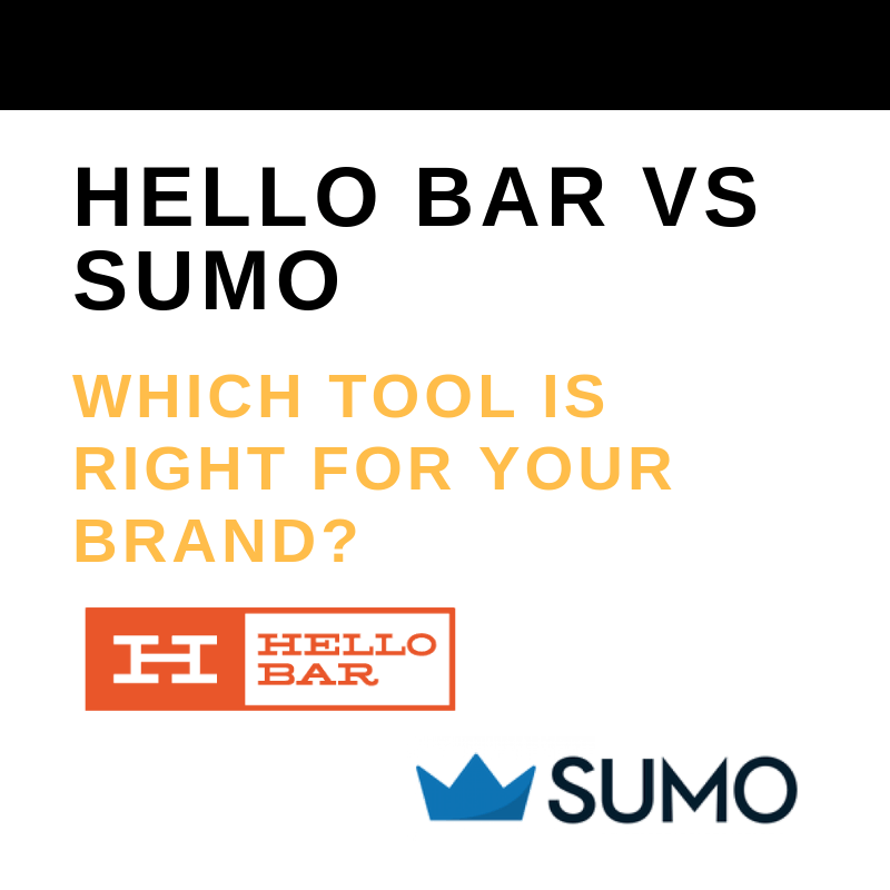 Hello Bar Vs Sumo Which Tool Is Right For Your Brand?