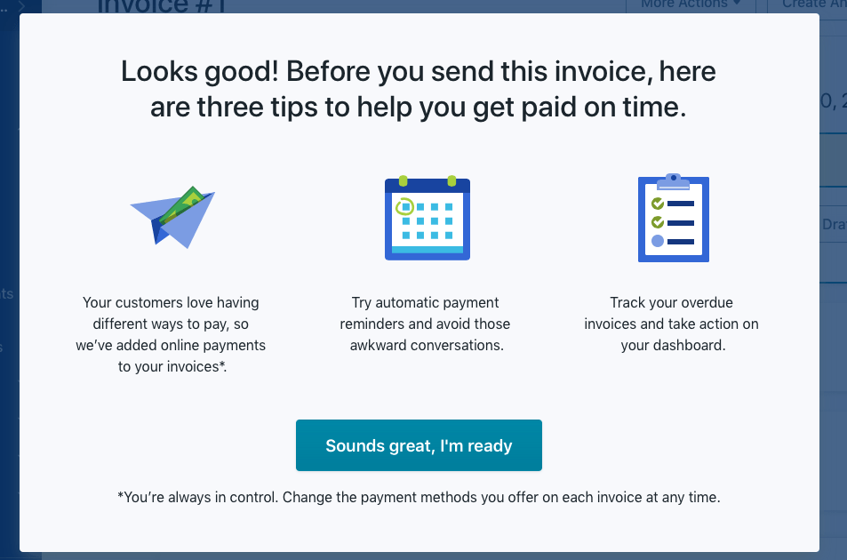 Wave Invoice Tips