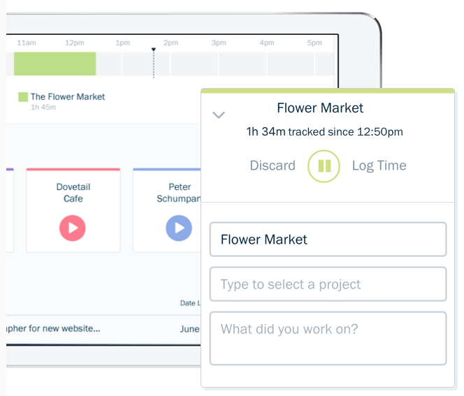freshbooks time tracker