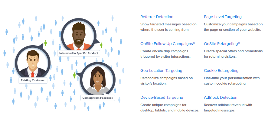 OptinMonster Targeted Campaigns