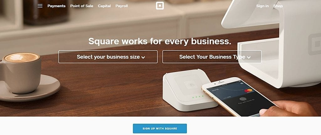 square home page