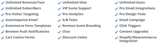 Sumo features