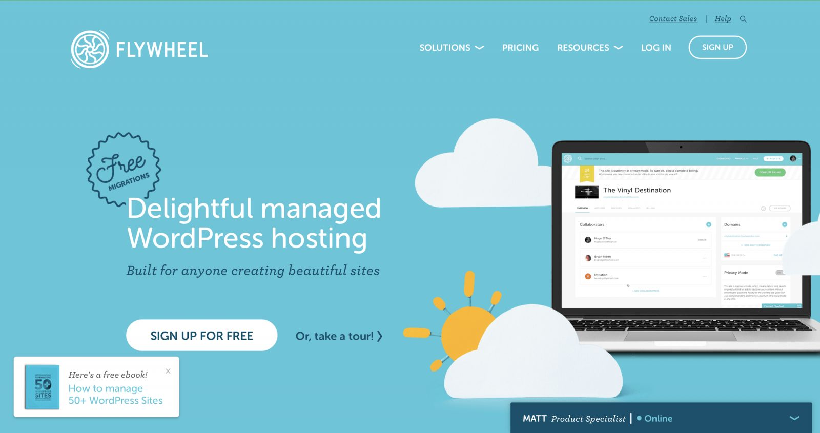 flywheel home page