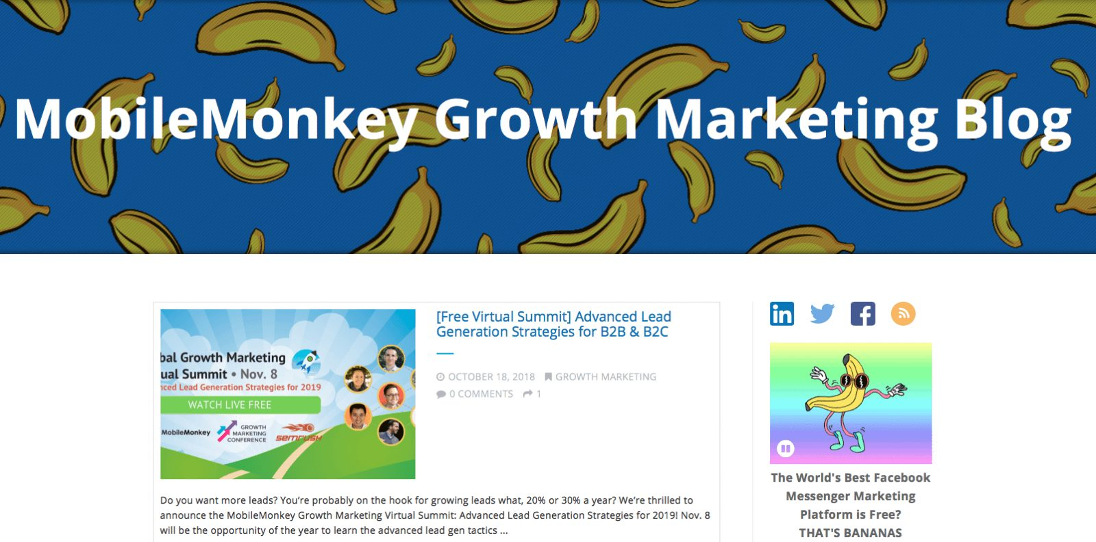 Mobilemonkey marketing blog