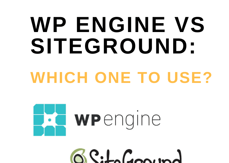 WP engine vs siteground: Which one to use?