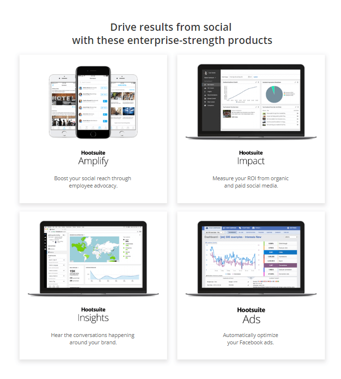 hootsuite enterprise-strength products