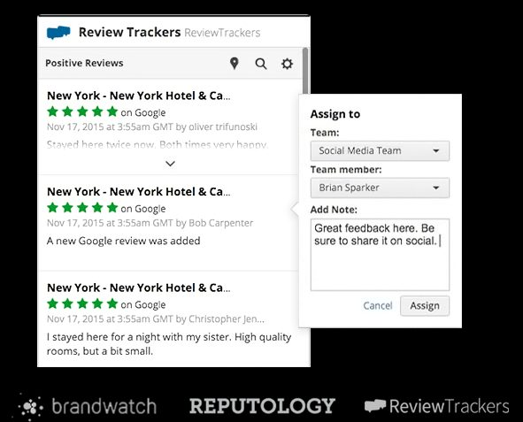 hootsuite review trackers