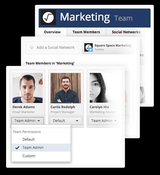 hootsuite marketing team screenshot