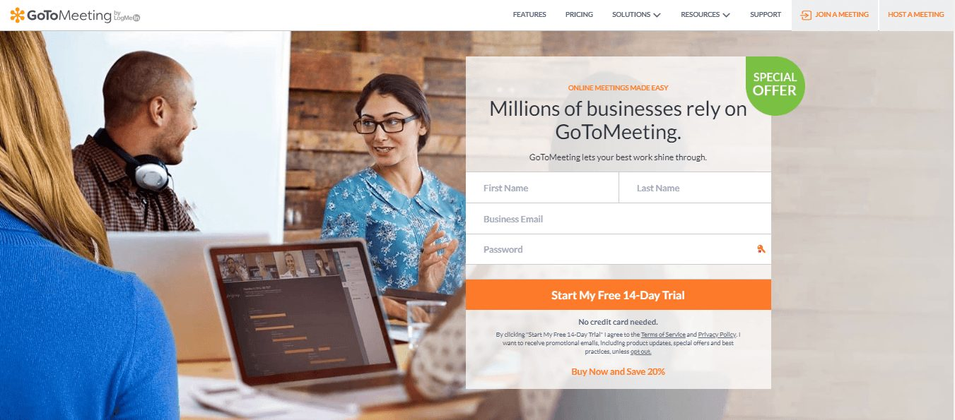 Gotomeeting online meetings