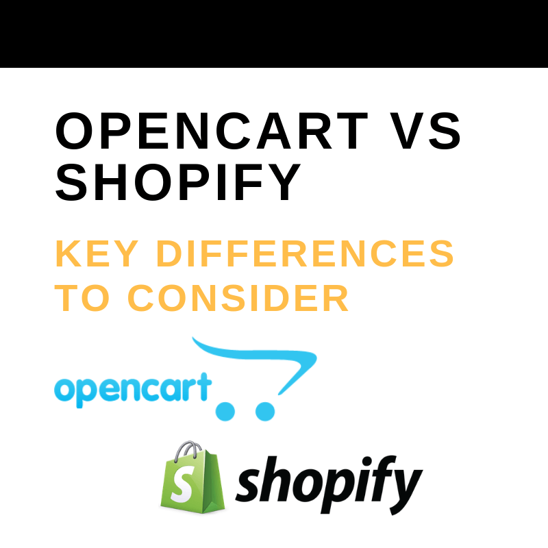 OpenCart vs Shopify: Key Differences to Consider - The