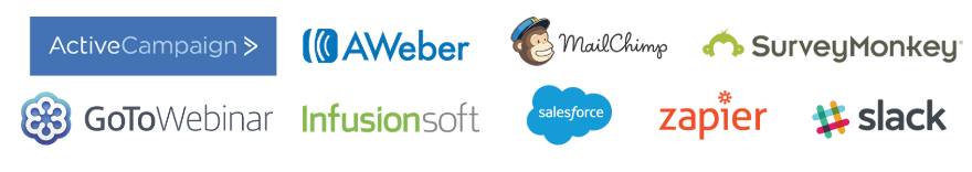 wishpond integration logos
