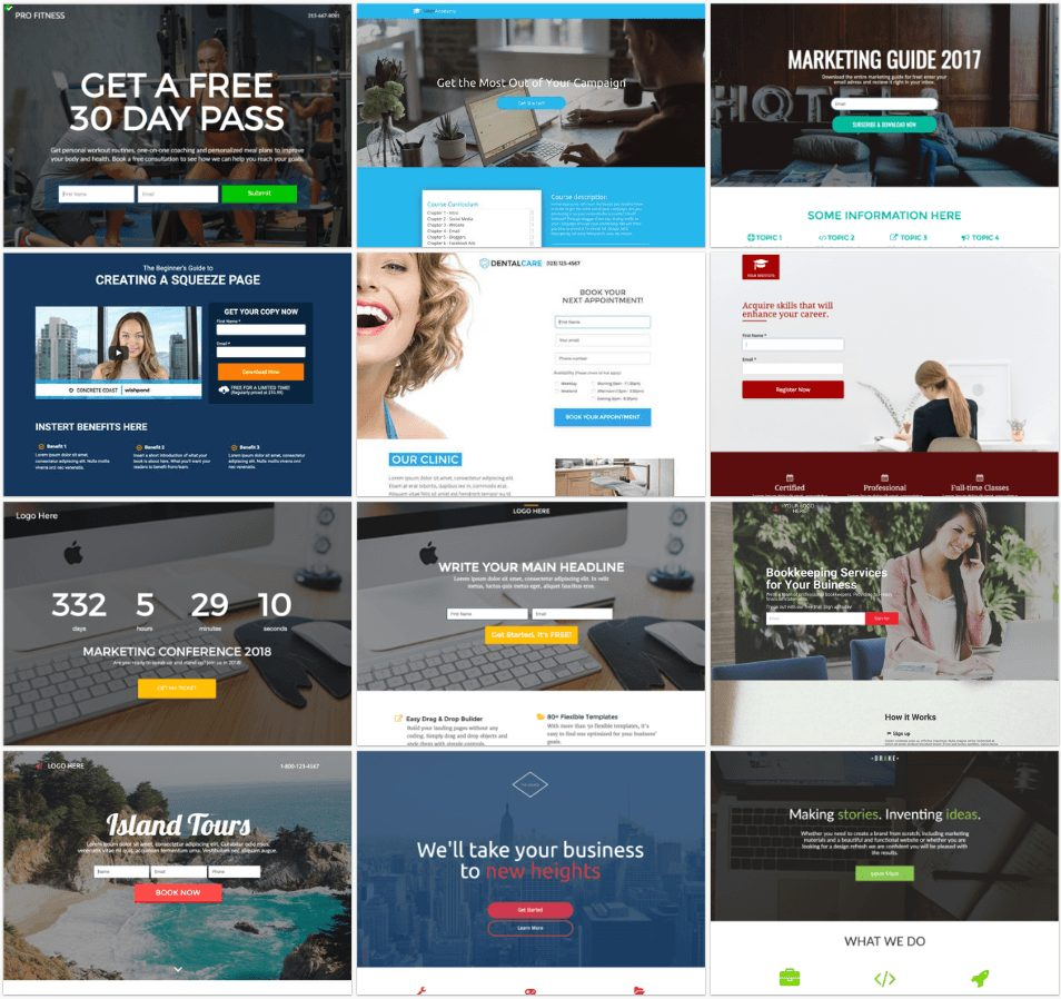 wishpond templates