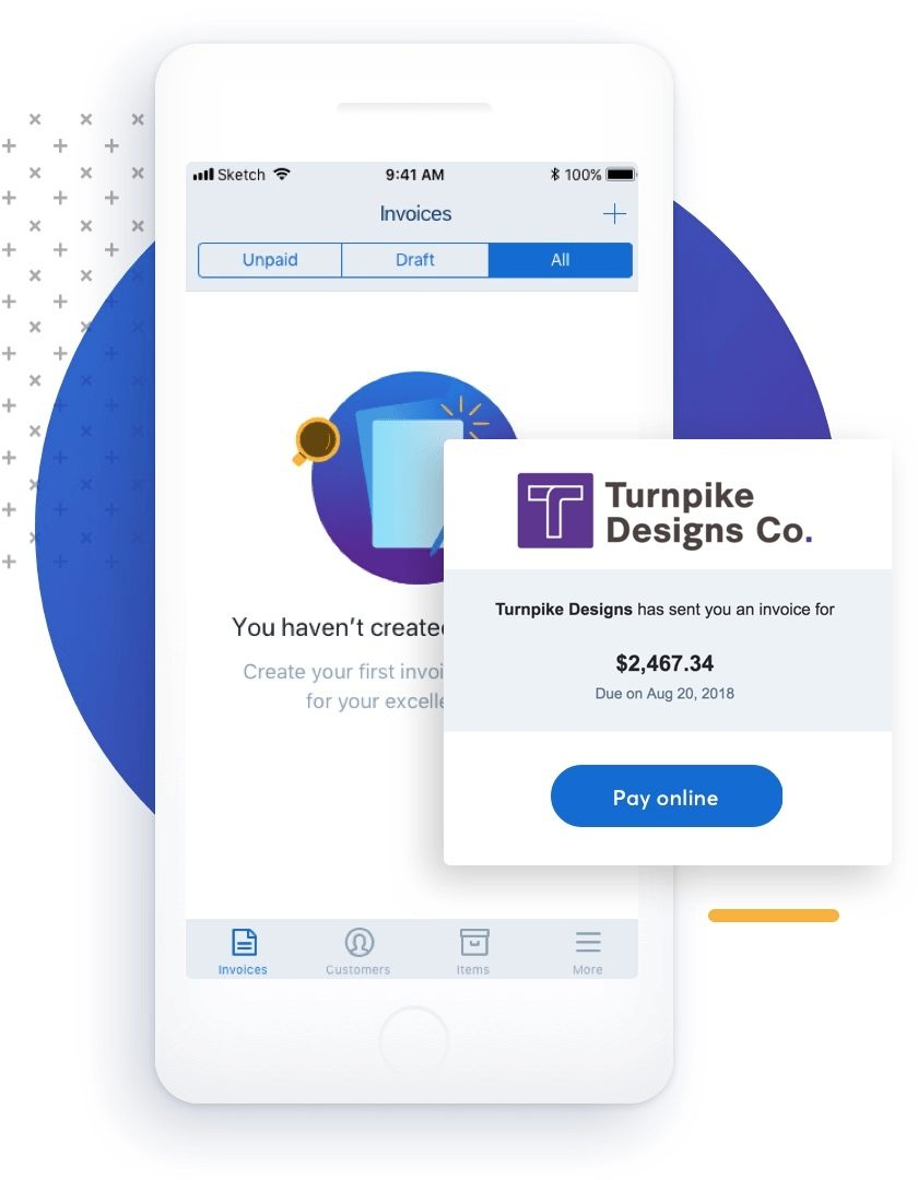 wave mobile invoicing