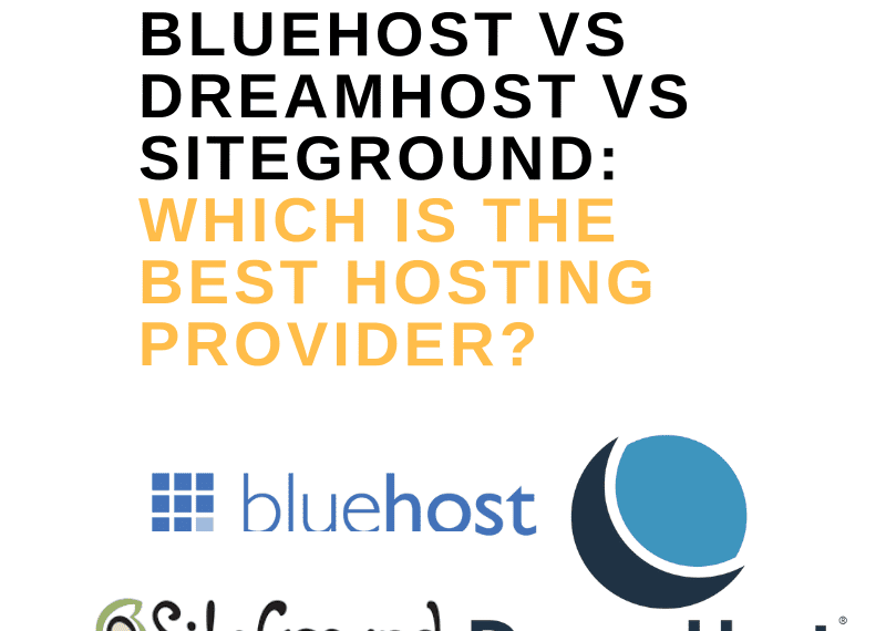 BLUEHOST VS DREAMHOST VS SITEGROUND_ WHICH IS THE BEST HOSTING PROVIDER_