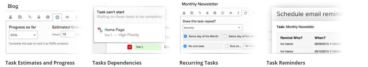 Teamwork Task Management Dashboard