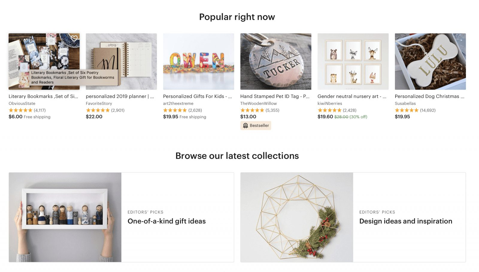 etsy online stores