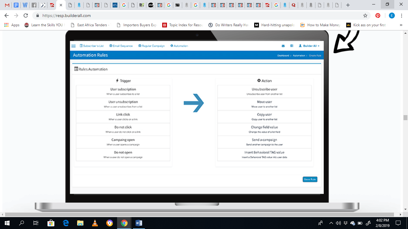 clickfunnels automation rules
