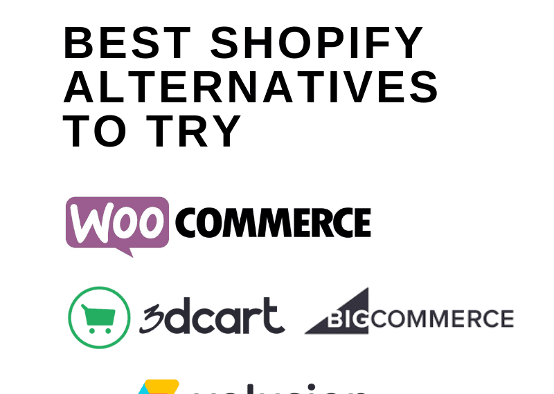 BEST SHOPIFY ALTERNATIVES TO TRY