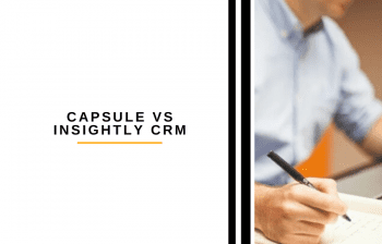 Capsule vs Insightly CRM