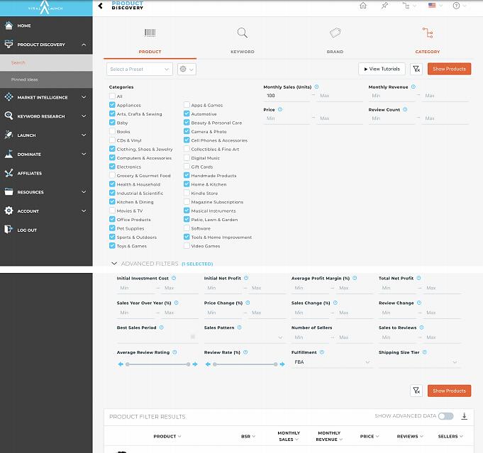 viral launch dashboard