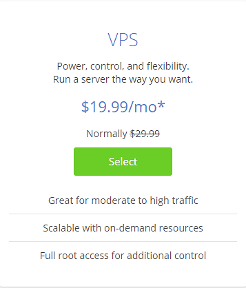 VPS Pricing