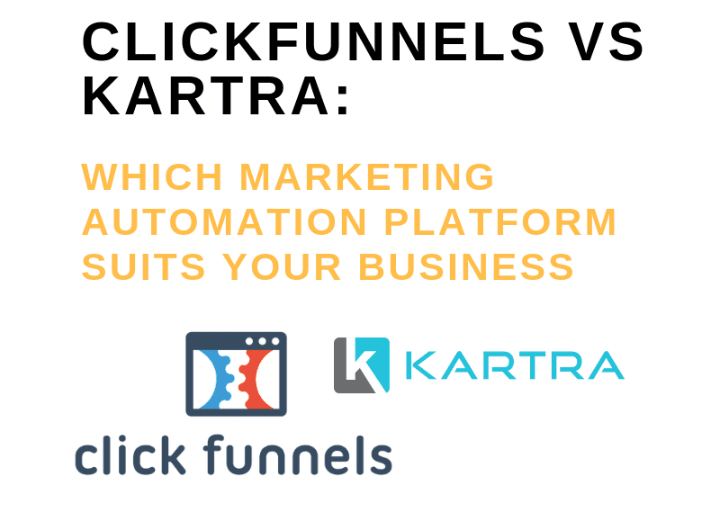Some Known Details About Kartra Vs Clickfunnels