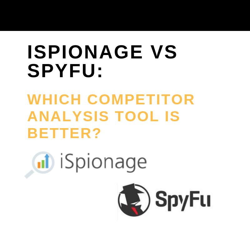 ISPIONAGE VS SPYFU