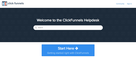 clickfunnels helpdesk support