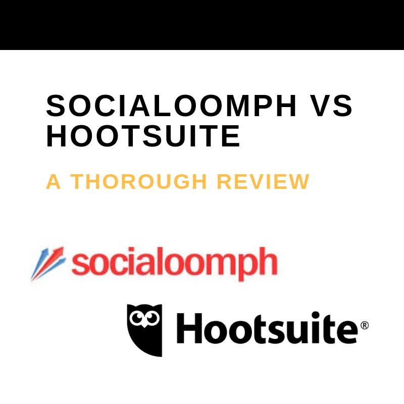SOCIALOOMPH VS HOOTSUITE