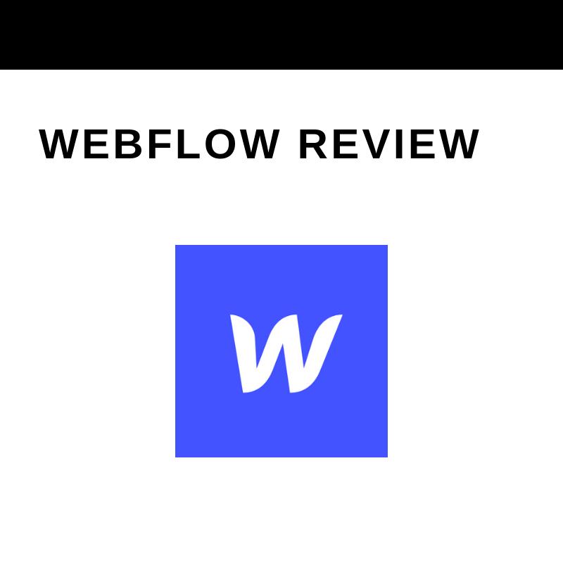 I Personally Prefer Webflow
