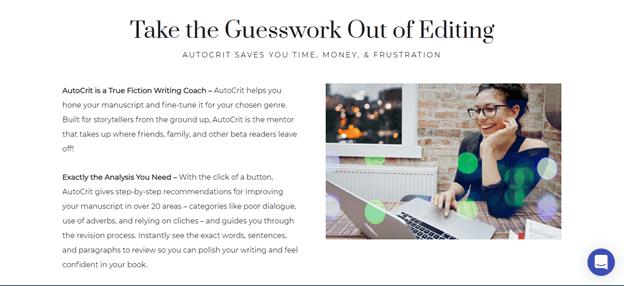 Autocrit editing