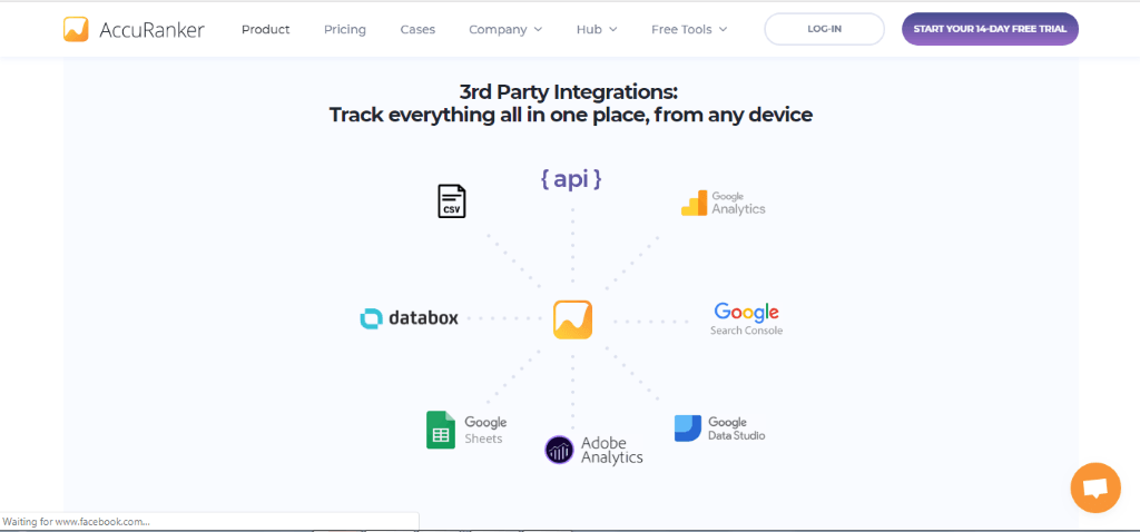 AccuRanker 3rd Party integrations