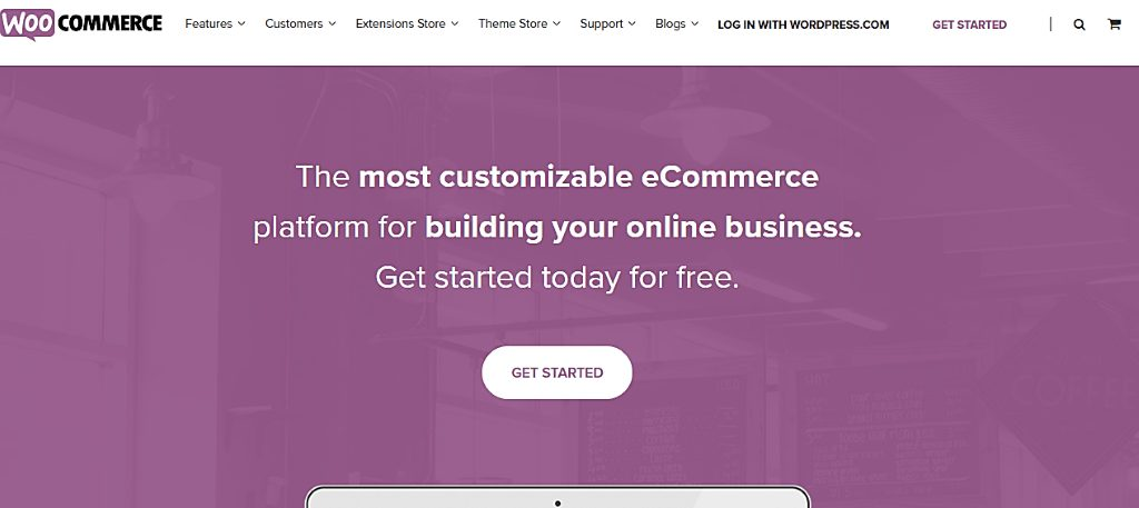 WooCommerce vs Shopify: which is better WooCommerce home page